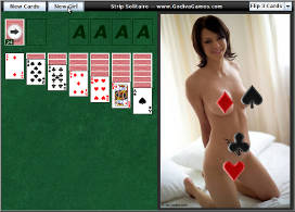 Link to play Strip Solitaire game
